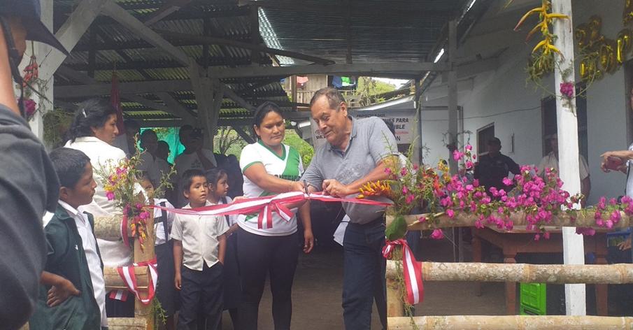 DETEC inauguró Estación de Reproducción de Tecnología Agroforestal (ERTA) en Montevideo-Chaglla