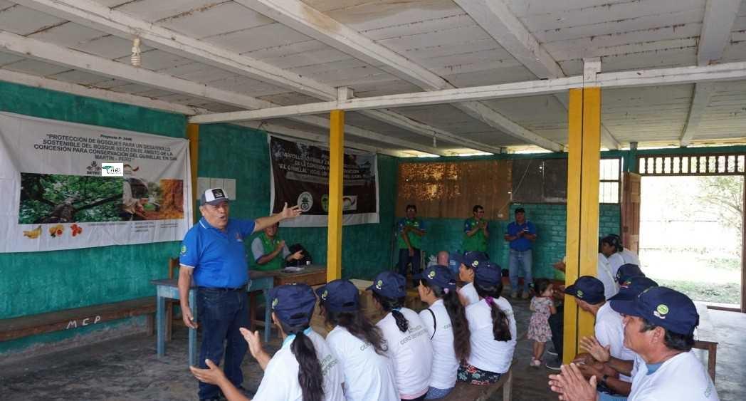 DETEC, Desarrolla acción climática y contribuye al fortalecimiento de agroforestería, para la conservación del bosque seco El Quinillal, en Bellavista, Región San Martín.