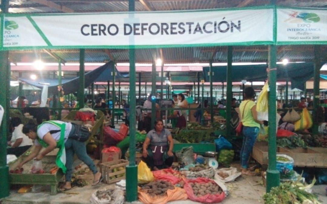 Productos Cero Deforestación con acogida en Feria Comercial Interoceánica
