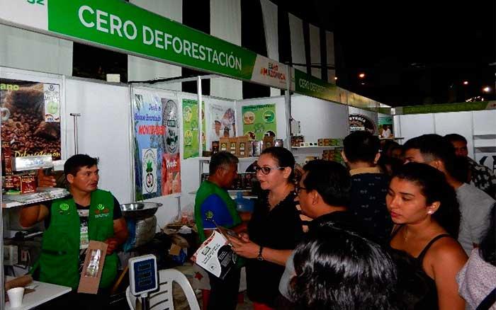 """Productores con enfoque """"CERO DEFORESTACION"""" de Huánuco y Ucayali, participaron en la expo Amazónica 2019 – LORETO"""