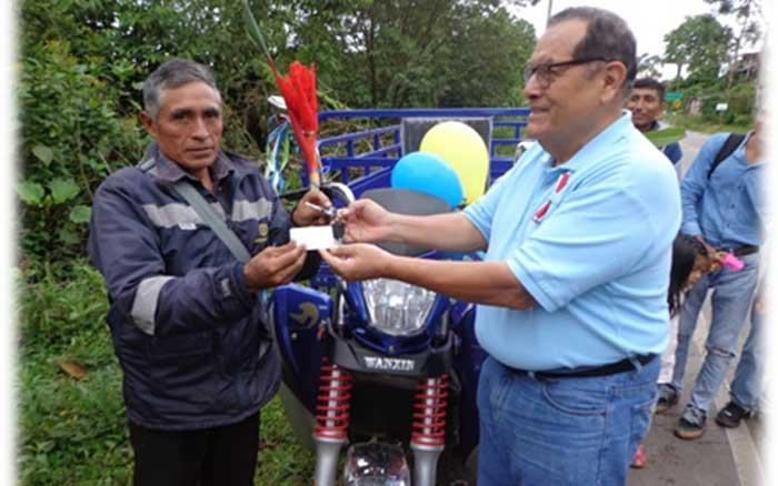 DETEC inauguró Estación de Reproducción de Tecnologías Agroforestales (ERTA) en Hermilio Valdizan