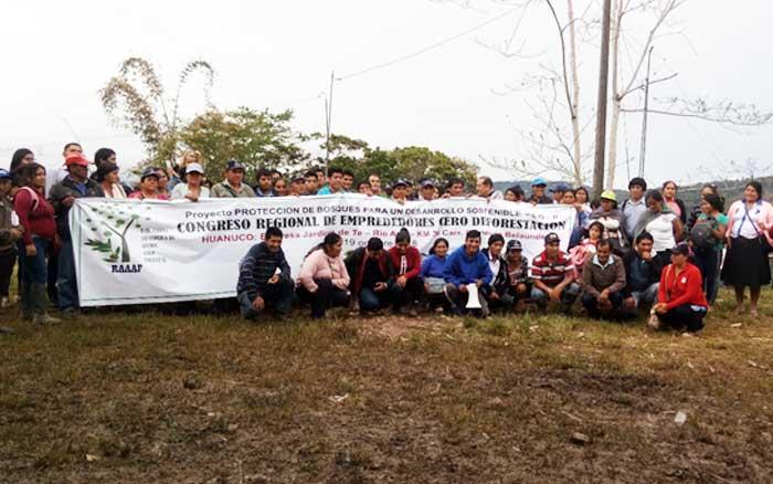 Se intensifica preparativos de la Campaña CERO DEFORESTACION, en regiones  de la Amazonía : Huánuco y Ucayali