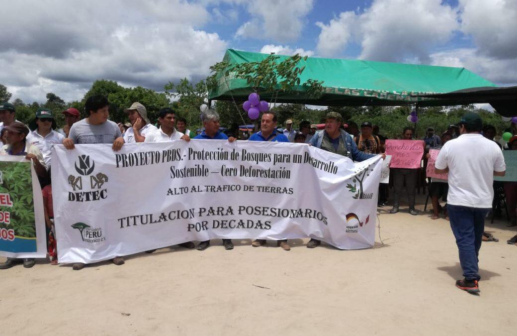 CAMPESINOS RECLAMAN LA ACCION DEL ESTADO PARA EL RECONOCIMIENTO DE TIERRAS-LARGAMENTE POSTERGADOS EN  LA REGION UCAYALI.